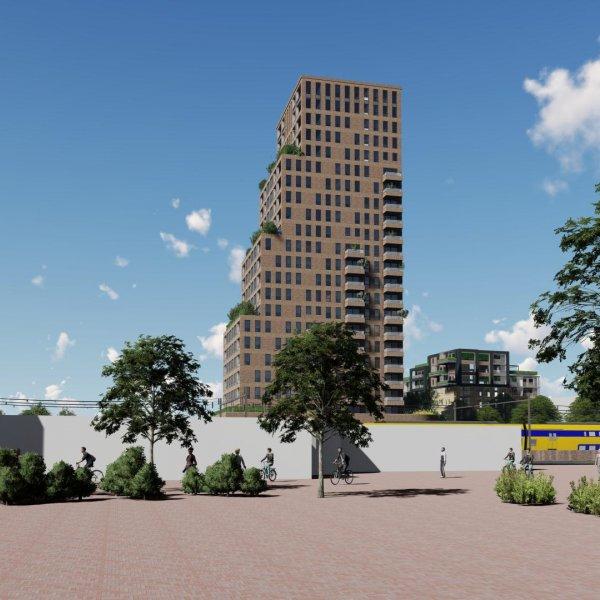 Nieuwbouwproject Waarddijktoren in Heerhugowaard