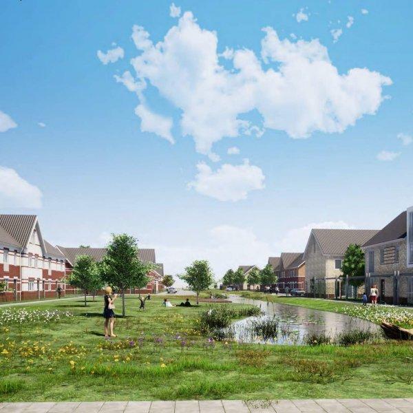Nieuwbouwproject Het Leeuwse Veld fase 13 in Beneden-Leeuwen
