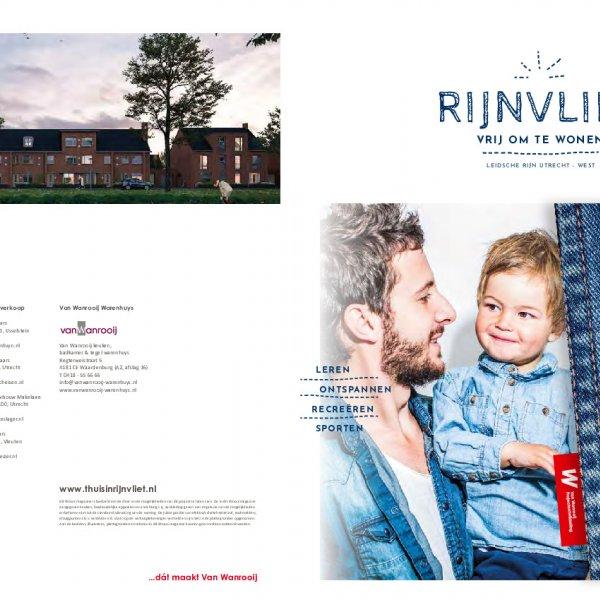 Verkoopbrochure 137 woningen Rijnvliet West