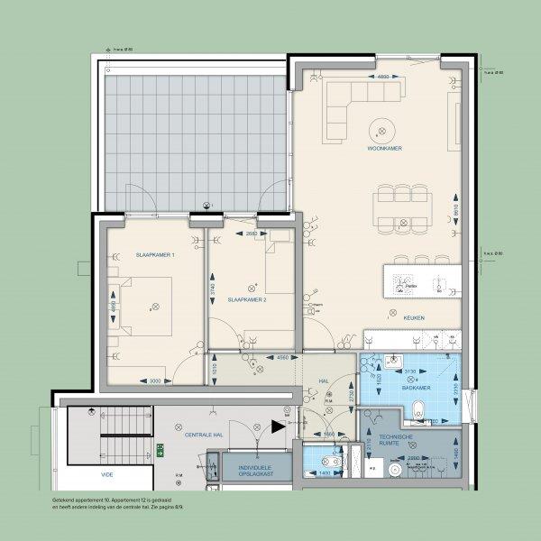 Appartementen 10 en 12
