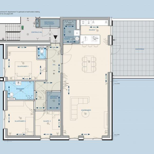 Appartementen 5 en 7
