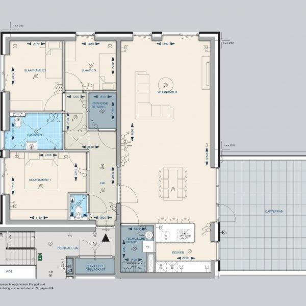 Appartementen 6 en 8