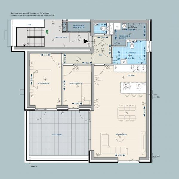 Appartementen 9 en 11