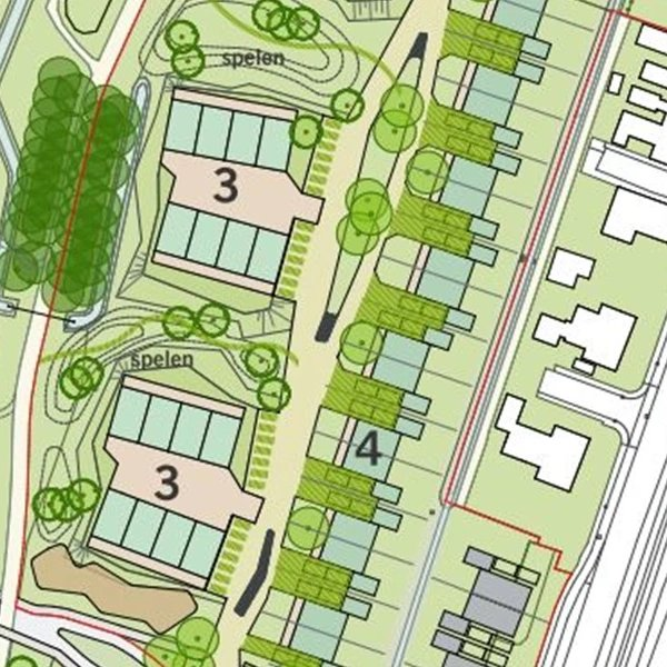 Nieuwbouwproject Parkwonen op De Eendracht - Appingedam in Appingedam