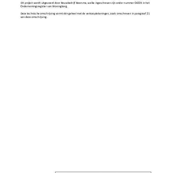 Technische omschrijving