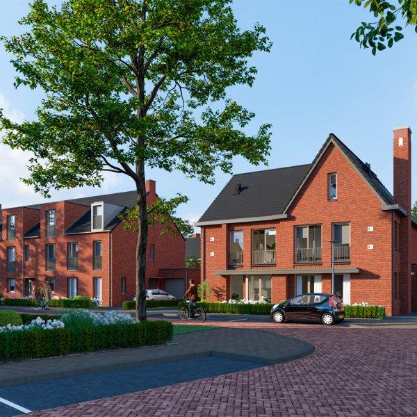 Nieuwbouwproject Rijnvliet West fase 10 B te Utrecht in Utrecht