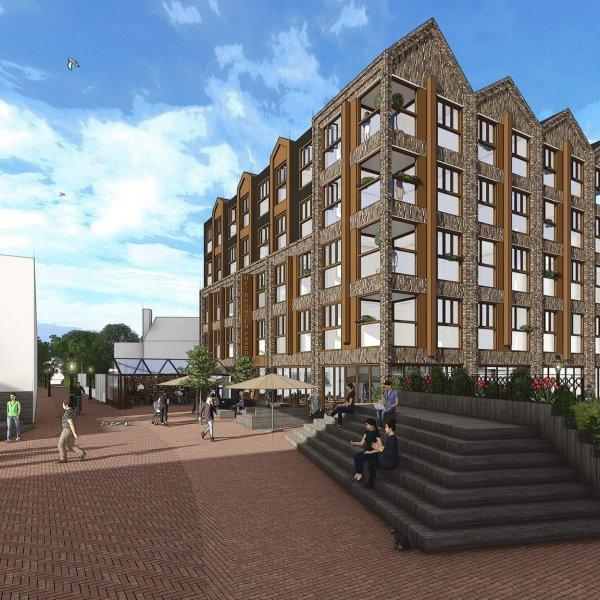 Nieuwbouwproject Het Bronzen Paard - Nieuwbouw in Alkmaar