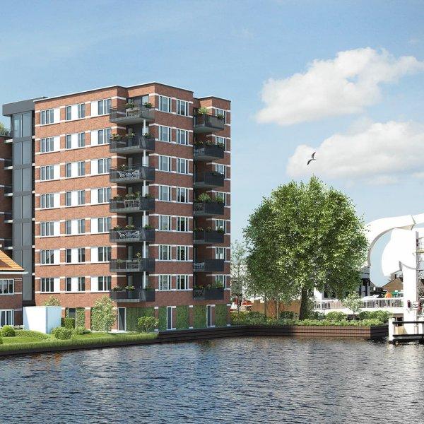 Nieuwbouwproject De Brugwachters van Leiden (HUUR) in Leiden