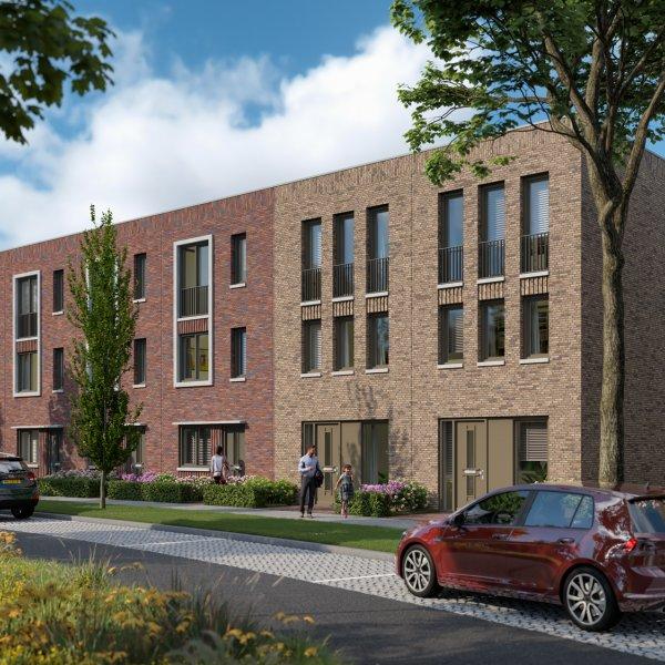Nieuwbouwproject De Kolk Westergouwe fase 2 in Gouda