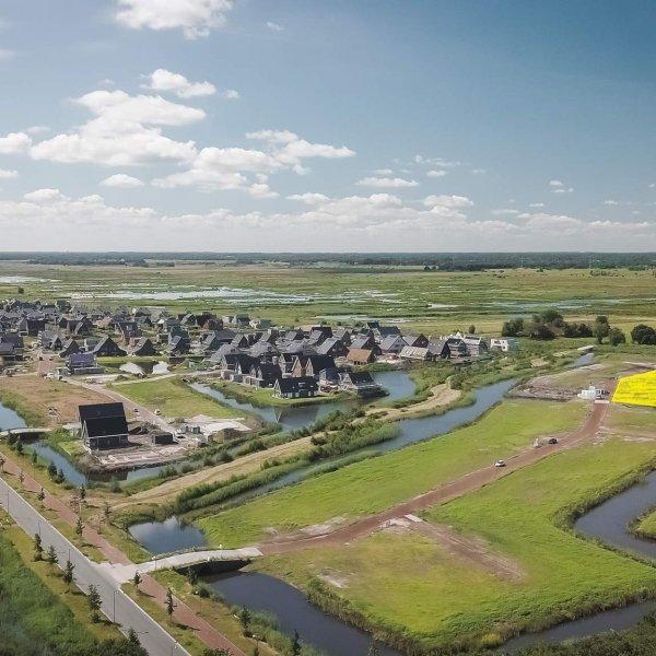 Nieuwbouwproject Watervilla's De Beekjuffer in Eelderwolde
