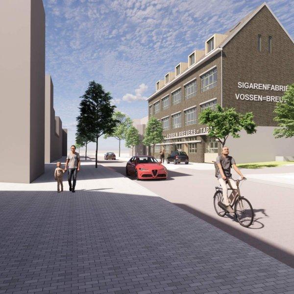 Nieuwbouwproject Vossen-Breuers - De Fabriek -lll- In de aje Sigarefabriek in Tegelen