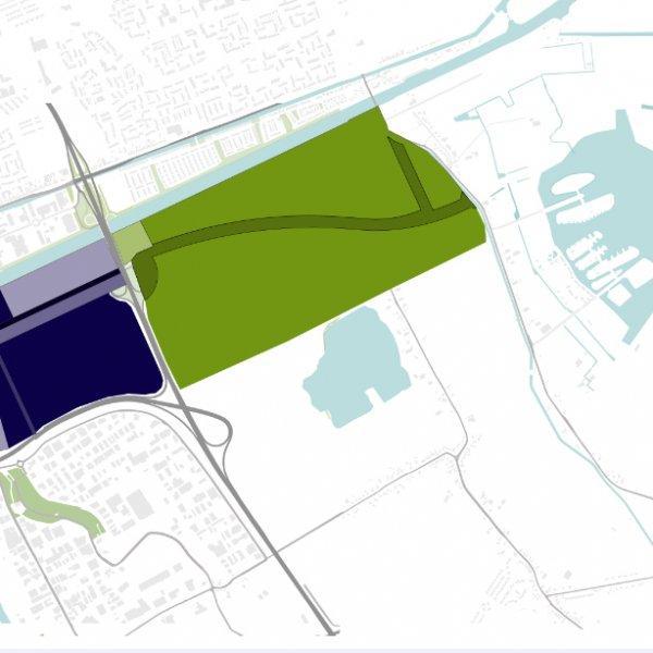 Nieuwbouwproject Eemskanaalzone in Meerstad