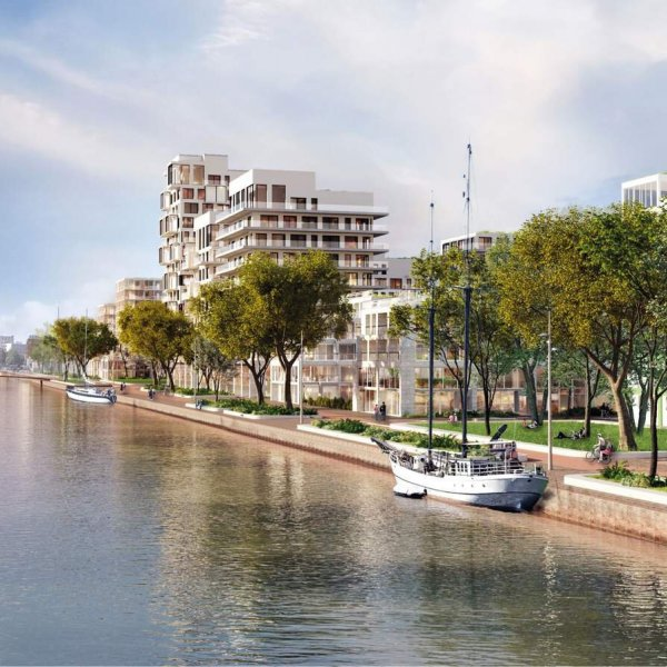 Nieuwbouwproject Stadshavens in Groningen