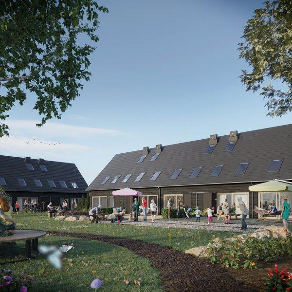 Nieuwbouwproject Hofwoningen Hof Lindebeek in Stevensbeek