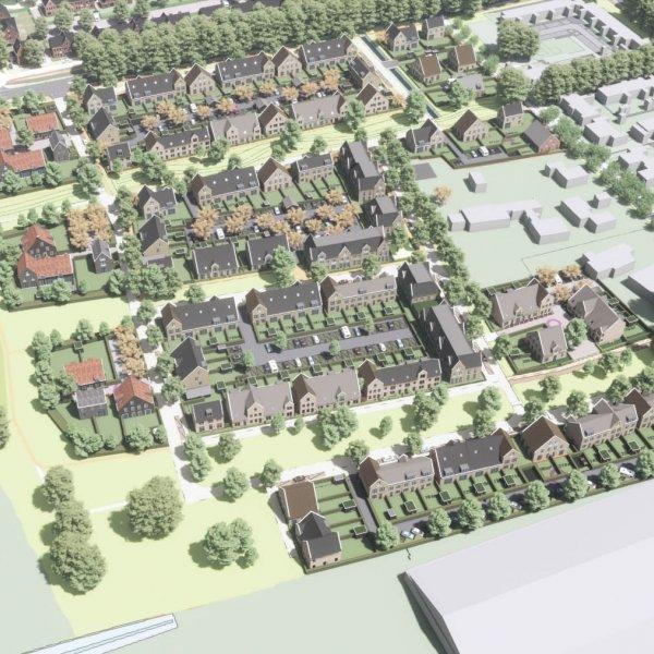 Nieuwbouwproject Hofgeest Buiten in Velserbroek