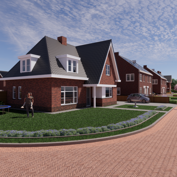 Nieuwbouwproject Nieuw Sintmapark in Tolbert