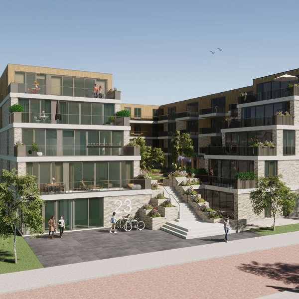 Nieuwbouwproject Terraza in Nieuwegein