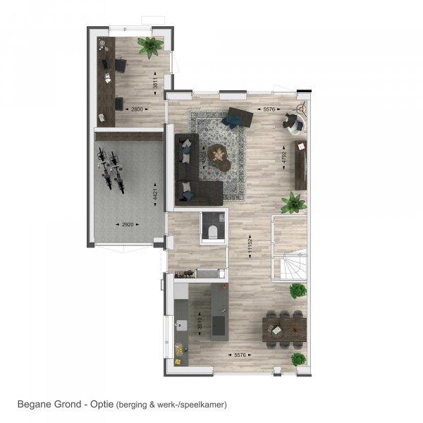 Nieuwbouwproject Buren van de Brinklaan in Nooitgedacht