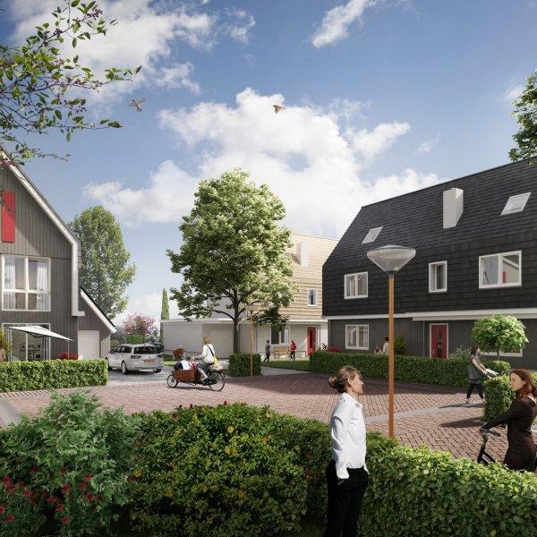 Nieuwbouwproject Brokking aan de Zaan in Wormerveer