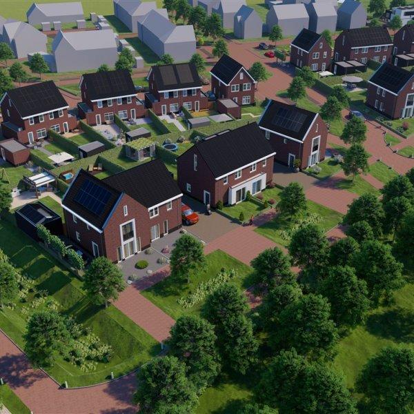 Nieuwbouwproject Eersel - Kerkebogten Oost in Eersel