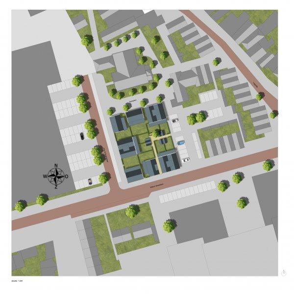 Nieuwbouwproject Hofje van Zaandijk in Zaandijk