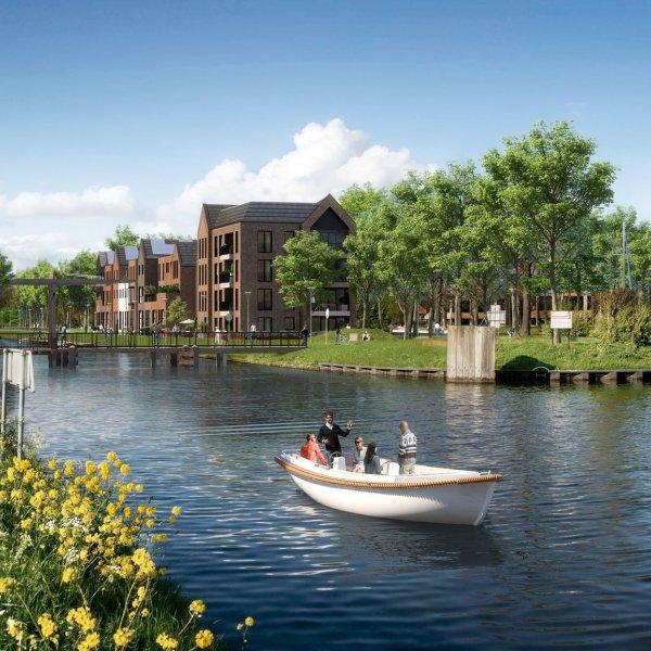 Nieuwbouwproject Sluiseiland Kop Zuid in Vianen
