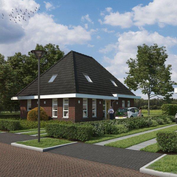 Nieuwbouwproject Vrijstaand wonen Tolbert in Tolbert