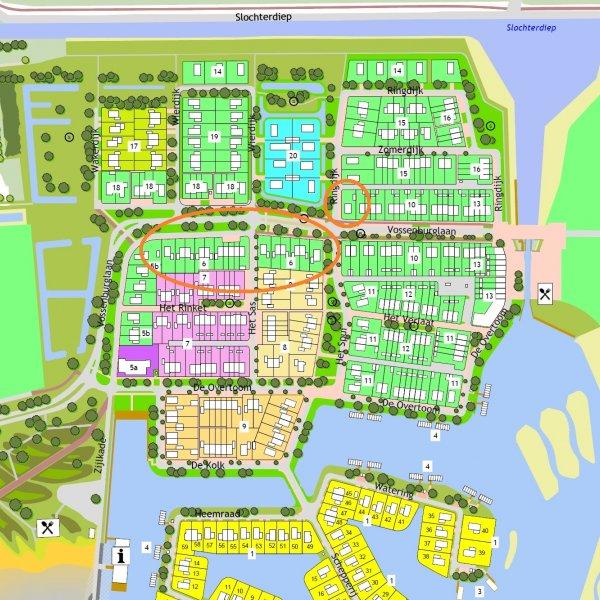 Nieuwbouwproject De Vossenburglaan (fase 2) in Meerstad