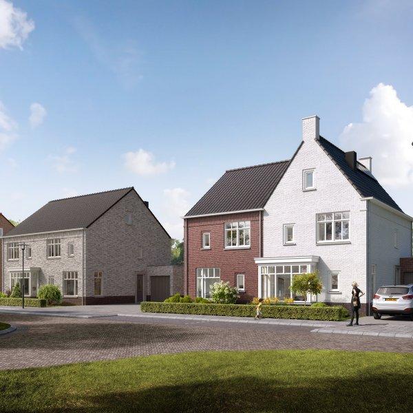 Nieuwbouwproject De Hoge Regt - 9 woningen in Beek en Donk
