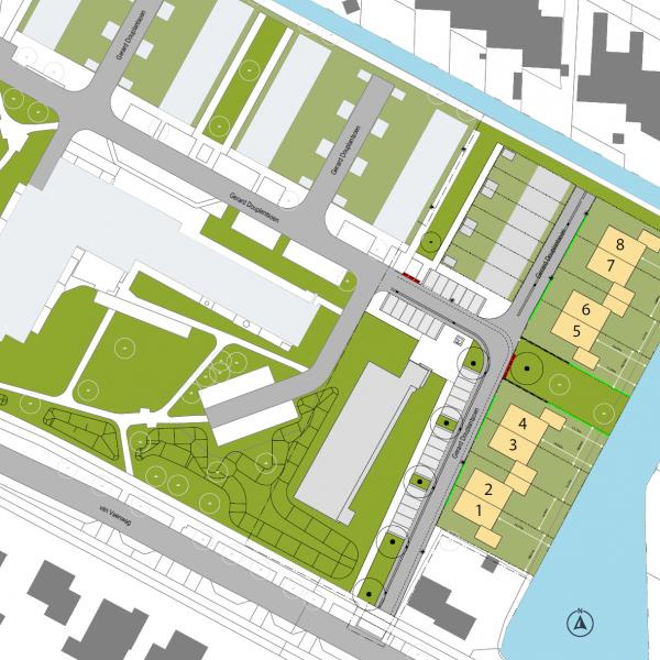 Nieuwbouwproject Gerard Douplantsoen in Heerhugowaard