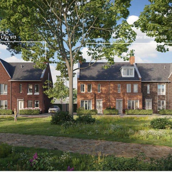Nieuwbouwproject Rijnvliet fase 9 in Utrecht