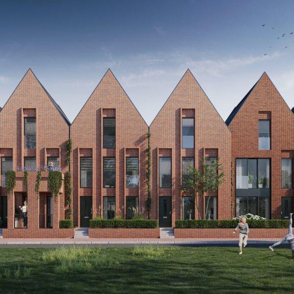 Nieuwbouwproject Groenewei   Parkzicht in Meerstad