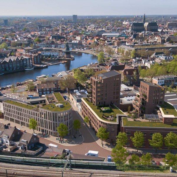 Nieuwbouwproject Gonnet 24 in Haarlem