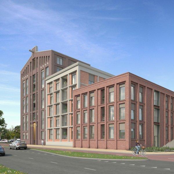 Nieuwbouwproject De Kroon in Zaandam