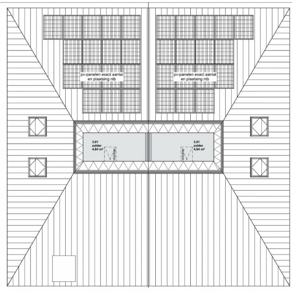 Nieuwbouwproject Kloostersingel | halfvrijstaand in Haren Gn