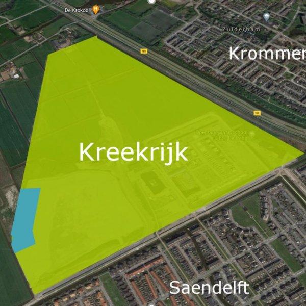 Nieuwbouwproject Kreekrijk Kavels in Assendelft