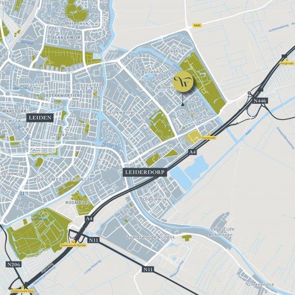 Nieuwbouwproject De Waterbies in Leiderdorp