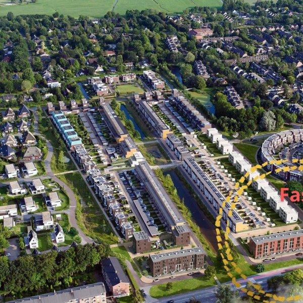 Nieuwbouwproject Signatuur Helpermaar Fase 2 in Groningen