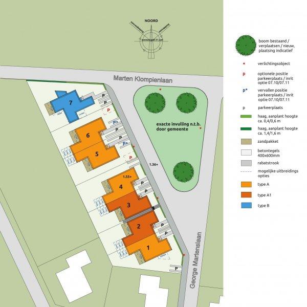 Nieuwbouwproject Thuis in Buitenwoel in Veendam