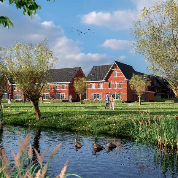 Nieuwbouwproject Westvaartpark in Hazerswoude-Rijndijk
