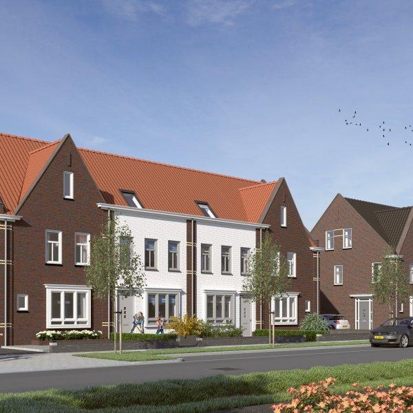Nieuwbouwproject Jazzboog fase III in Middelburg