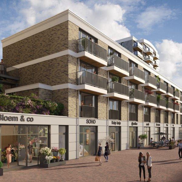Nieuwbouwproject Havenkwartier in Alphen aan den Rijn