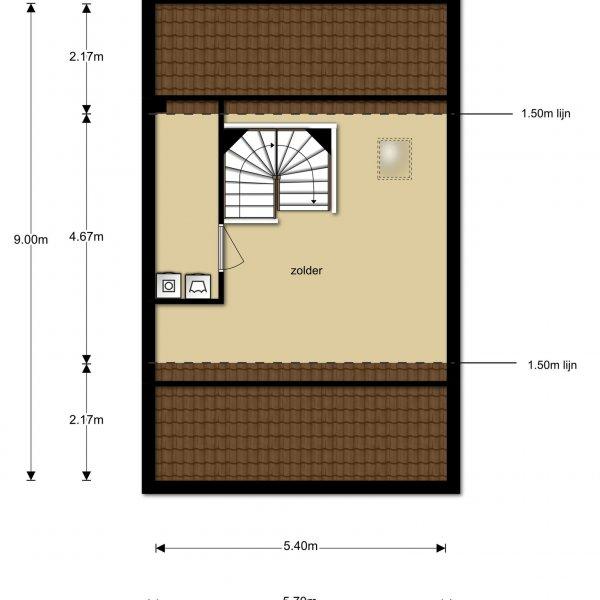 Twee-onder-één-kapwoning Type Lavendel, bouwnummer 147
