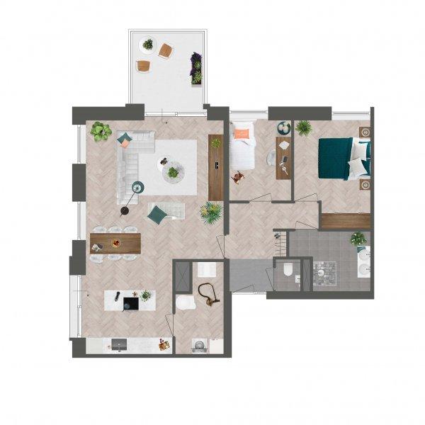 Appartement De Slotwachter, bouwnummer 4