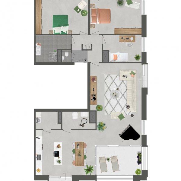 Penthouse De Slotwachter, bouwnummer 18