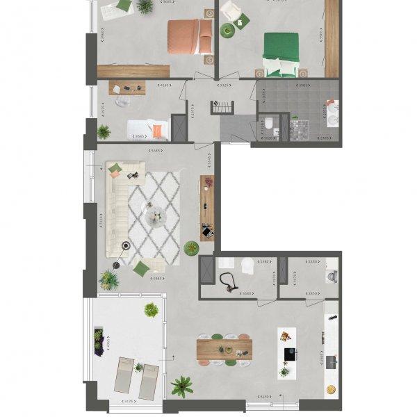 Penthouse De Slotwachter, bouwnummer 19