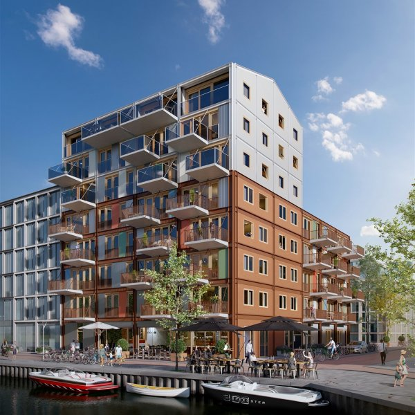 Compacte appartementen, bouwnummer 6