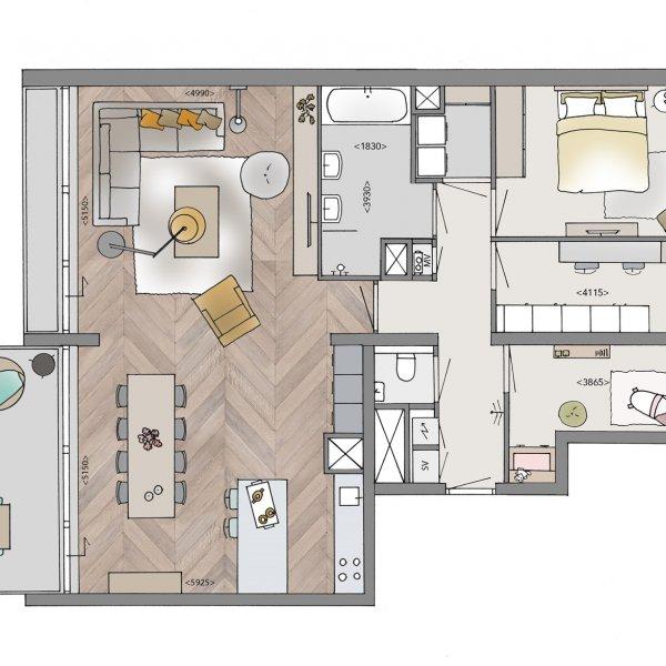 Penthouses, bouwnummer 33