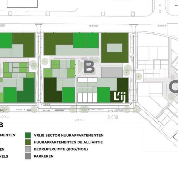 Compacte appartementen, bouwnummer 1