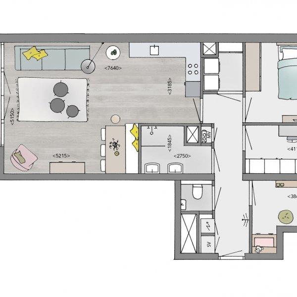 Medium appartementen, bouwnummer 21